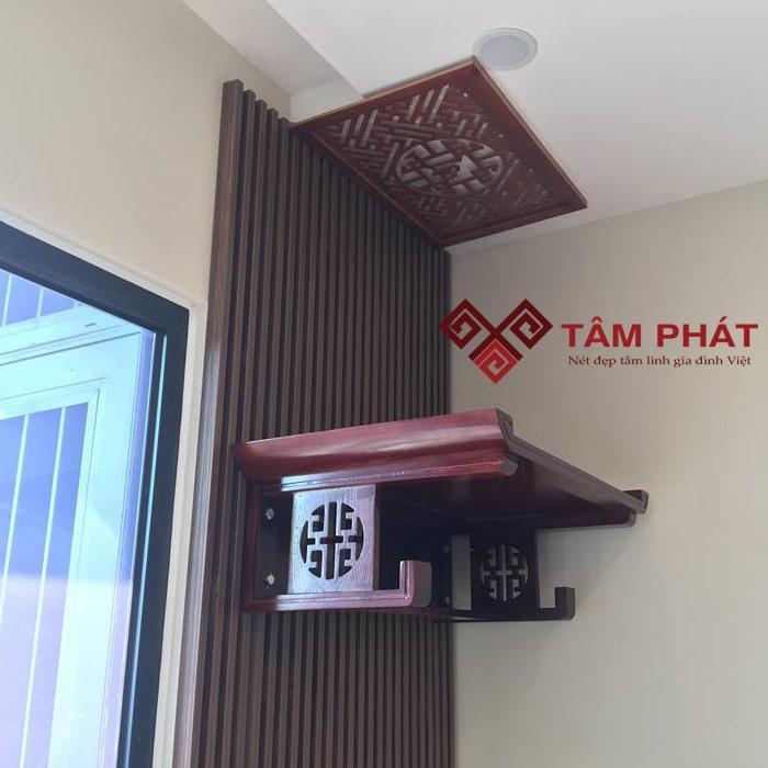 Bàn thờ TT2032 phù hợp với căn hộ chung cư diện tích 120m2