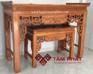 Mẫu bàn thờ hiện đại BT – 1025 phù hợp với mọi không gian thờ cúng