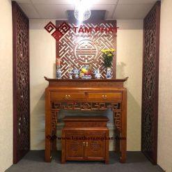 Mẫu bàn thờ đẹp BT-1028 kích thước 61x127