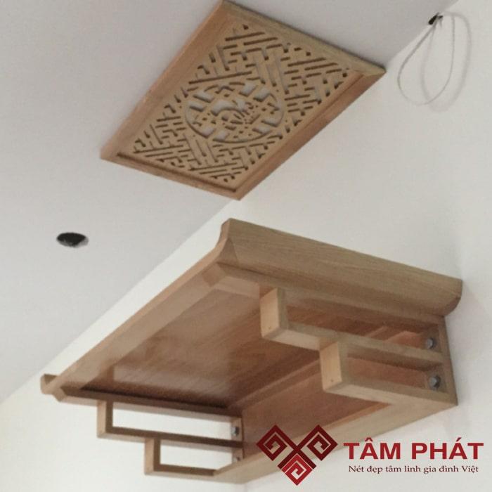 Bàn thờ treo tường TT2021 thiết kế tinh xảo