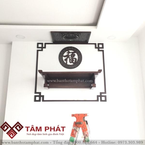 Bàn thờ treo Tâm Phát là sự lựa chọn hoàn hảo cho mọi nhà