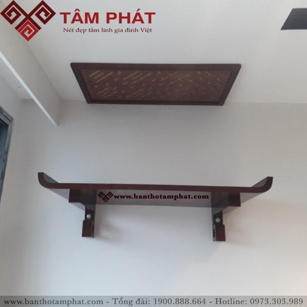 Bàn thờ treo tường gỗ Gụ TTG2048