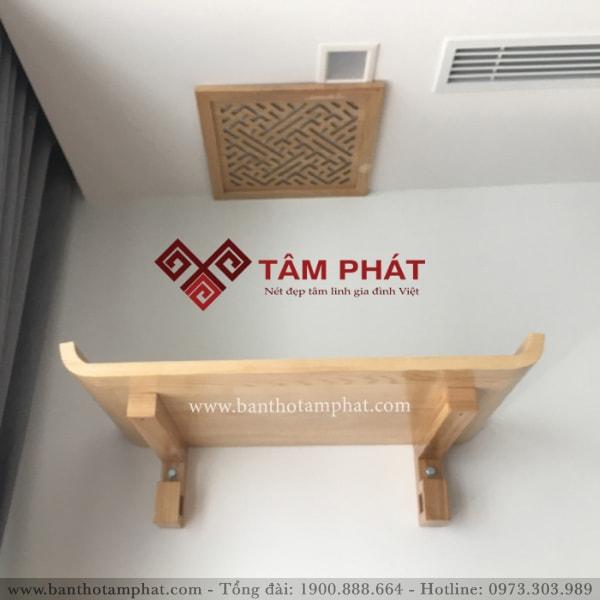Bàn thờ treo tường Tâm Phát là thương hiệu số 1 thị trường