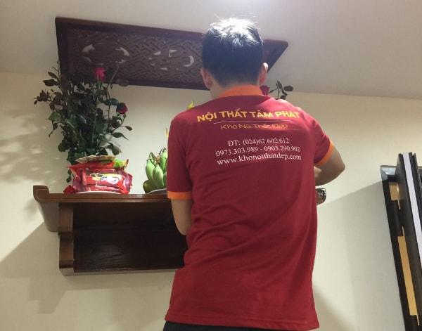 Cách chuyển bàn thờ sang vị trí khác trong nhà