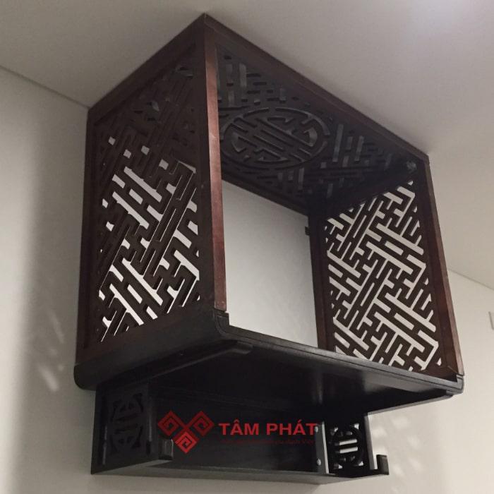 Bàn thờ treo tường chung cư Tâm Phát đa dạng về mẫu mã và kiểu dáng