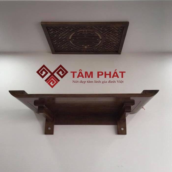 Tâm Phát – địa chỉ uy tín hàng đầu tại Việt Nam chuyên cung cấp bàn thờ treo gỗ Gụ
