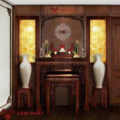 Bàn thờ đứng gỗ Gụ - Bàn thờ Tâm Phát