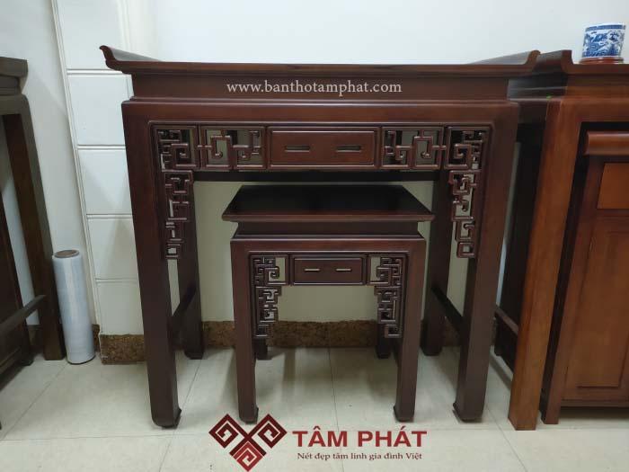 Bàn thờ đứng gỗ Gụ cao cấp mẫu BTG-1030 Tâm Phát