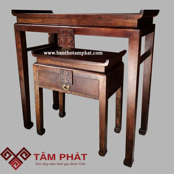Bàn thờ đứng BT1009 - mẫu bàn thờ vừa hiện đại vừa truyền thống