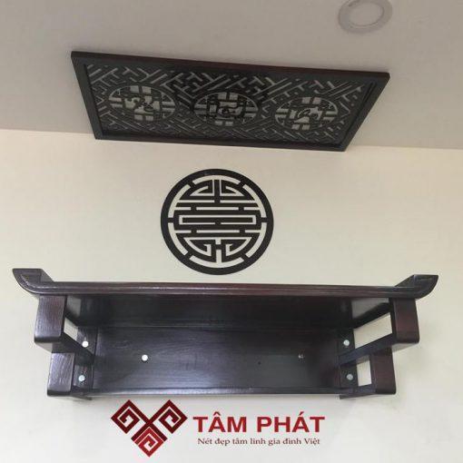 Bàn thờ treo tường được đánh giá cao với nhiều ưu điểm nổi trội