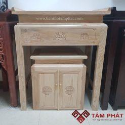 Bàn thờ gỗ hiện đại - bàn thờ Tâm Phát