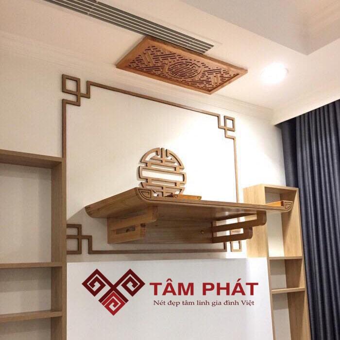 Bàn thờ gỗ hương là loại bàn thờ có ý nghĩa phong thủy rất tốt về sự hưng thịnh, an lành và may mắn