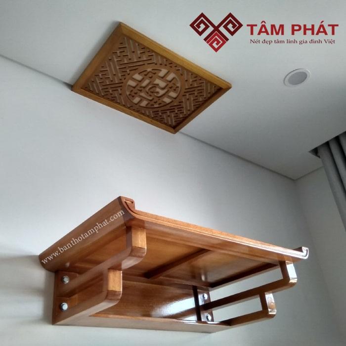 Khách hàng nói gì khi chọn sản phẩm bàn thờ treo gỗ mít của Tâm Phát