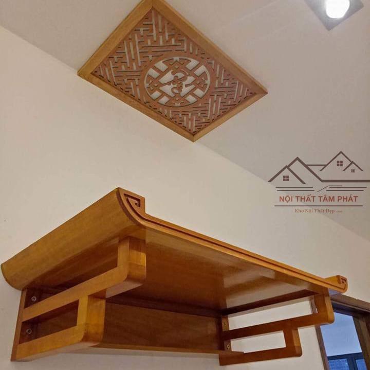 Thông tin cơ bản về bàn thờ treo tường gỗ mít TT2025