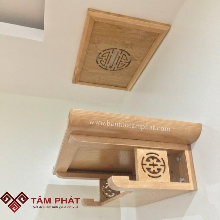 Bàn thờ treo tường hiện đại Tâm Phát được đánh giá là sự lựa chọn hoàn hảo dành cho người tiêu dùng