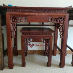 Bàn thờ gỗ - mẫu bàn thờ gỗ Gụ - Bàn thờ Tâm Phát