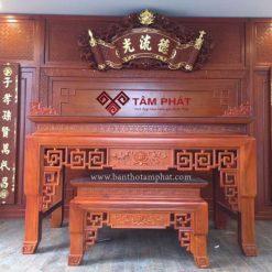Bàn thờ gỗ Gõ - bàn thờ Tâm Phát