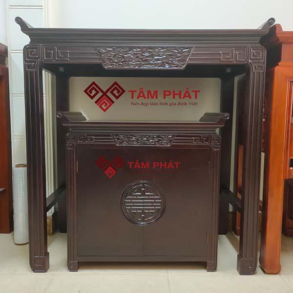 Mẫu bàn thờ đẹp gỗ Gụ BTG038 Tâm Phát