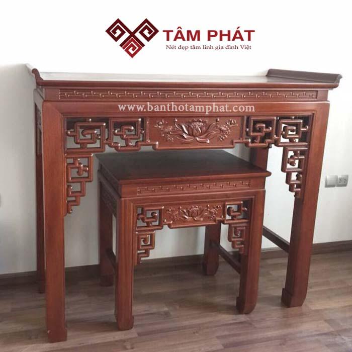 Bàn thờ gỗ Mít giá rẻ Tâm Phát