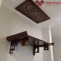 Mẫu bàn thờ treo tường đẹp, thiết kế mới hoàn toàn hiện đại