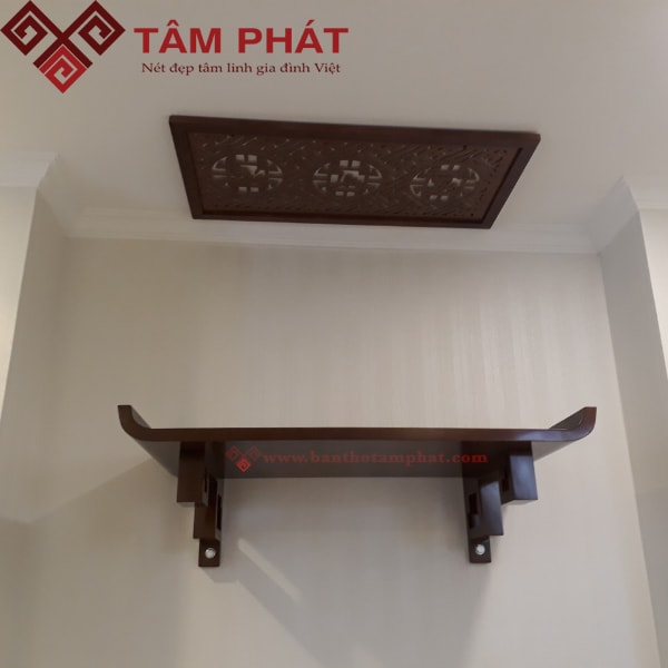 Mẫu bàn thờ treo tường đẹp TT2045