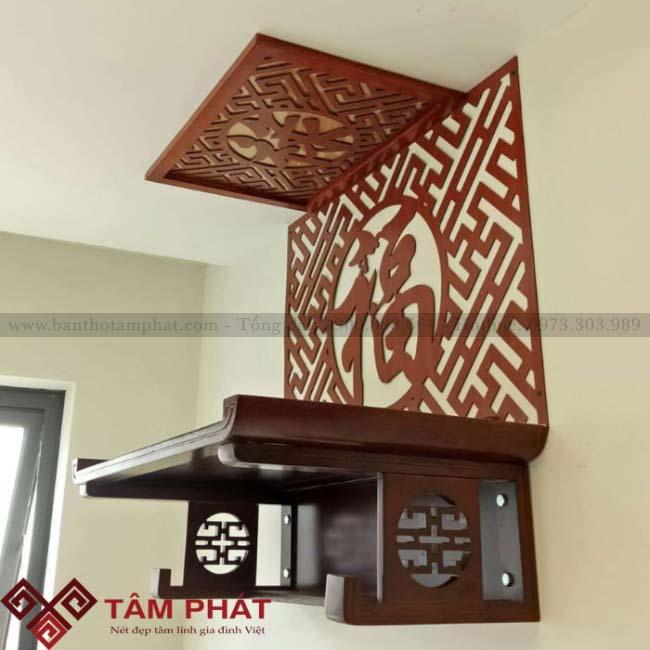 Bàn thờ treo tường TT2032 của Tâm Phát