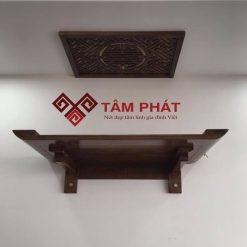 Mẫu bàn thờ treo tường đơn giản