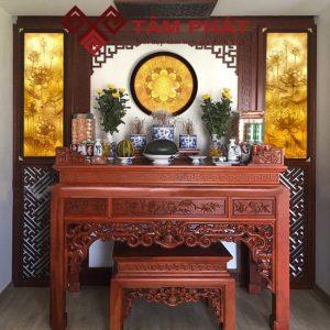 Bàn thờ gia tiên - Mẫu bàn thờ đang được các gia đình lựa chọn
