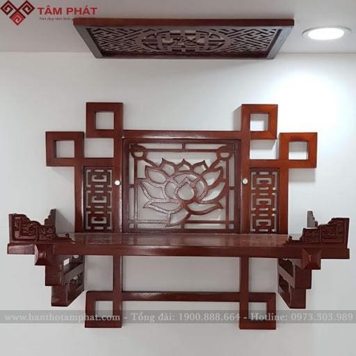 Mẫu bàn thờ treo đẹp nhất TT2054
