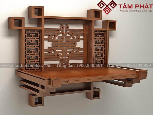 Thiết kế bàn thờ độc đáo đáp ứng mọi nhu cầu của Khách hàng khó tính nhất