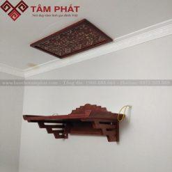 Mẫu bàn thờ treo tường đẹp TT2050