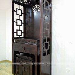 Mẫu bàn thờ thiết kế hiện đại dễ dàng lau chùi