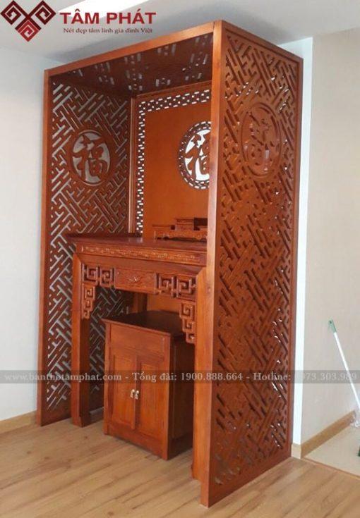 Bàn thờ thiết kế phù hợp với căn hộ chung cư