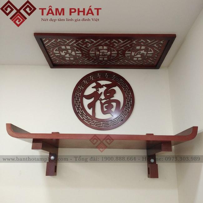 Bàn thờ treo tường đơn giản mẫu TT2060