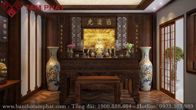 Mua bàn thờ đẹp Tâm Phát - Đón tài lộc vào nhà