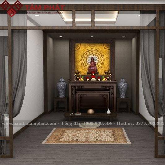 Sự kết hợp hài hoà giữa thờ Phật và thờ gia tiên