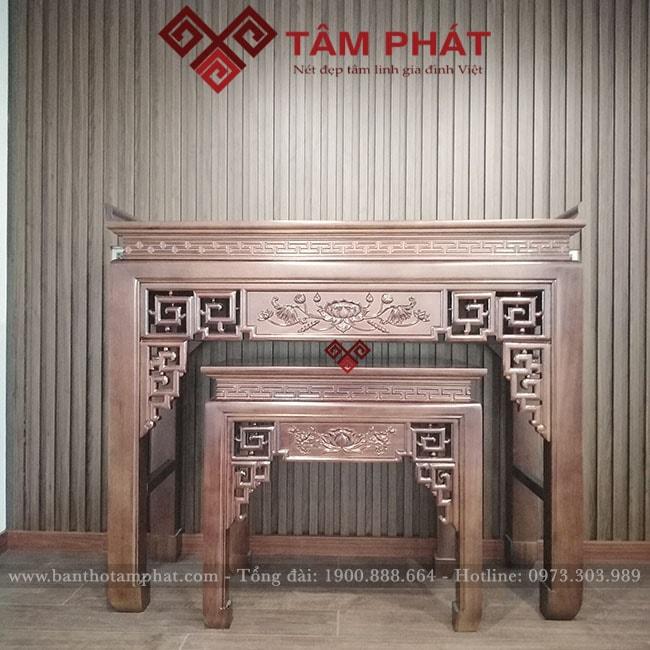 bàn thờ Tâm Phát – lựa chọn hàng đầu dành cho người tiêu dùng