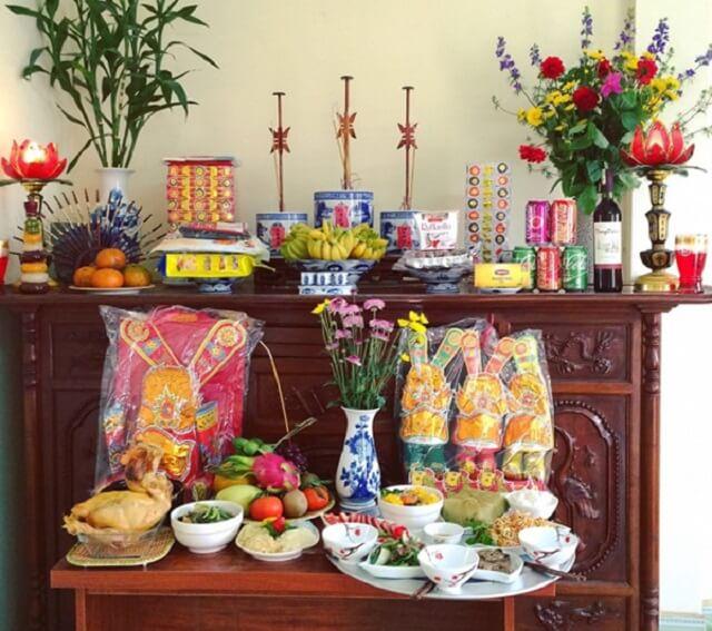 Cách bày bàn thờ Thổ Công