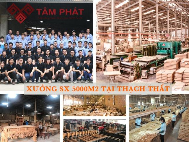 Xưởng sản xuất bàn thờ cho giá thành rẻ