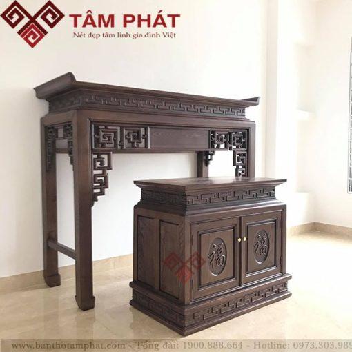 Bàn thờ gỗ Tâm Phát mẫu BT-1069