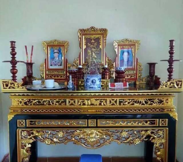 Cách lập bàn thờ Cửu Huyền Thất Tổ