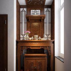 Bàn thờ đứng kết hợp ban treo thờ Phật mẫu BT-1088