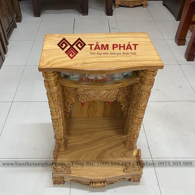 Mẫu bàn thờ Thần Tài BTT-3301
