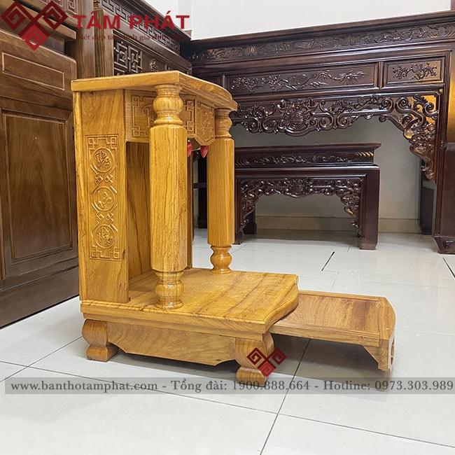 Bàn thờ Thần Tài đơn giản mẫu BTT-3303