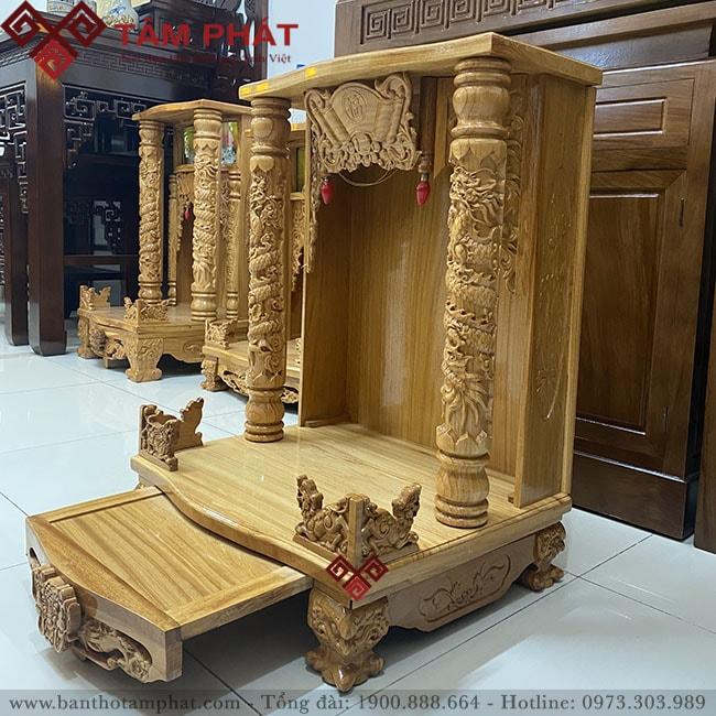 Mẫu bàn thờ Ông Thần Tài đẹp giá rẻ