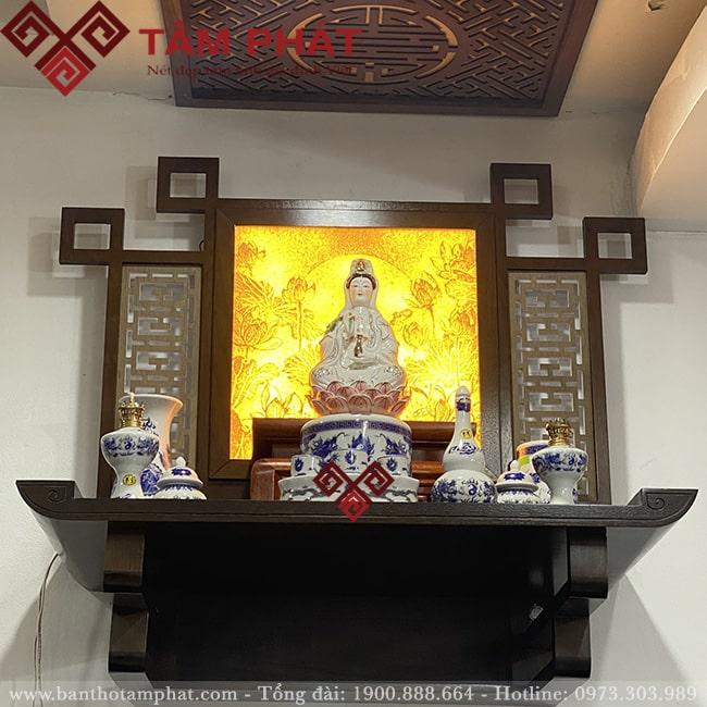 Tranh trúc chỉ bàn thờ treo tường