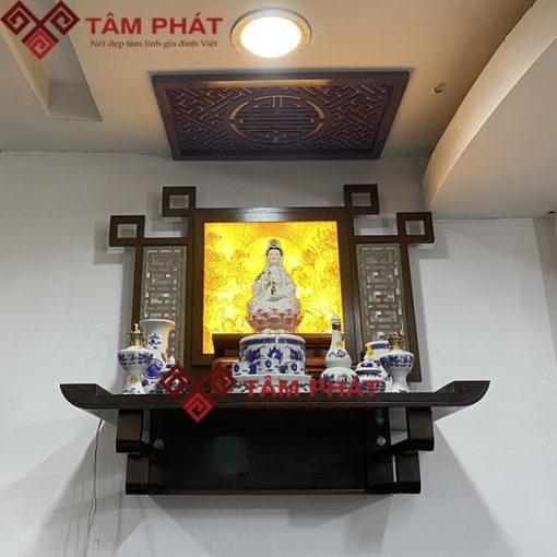 Bàn thờ Phật treo tường trang trí tranh mẫu TT2094