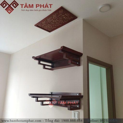 Bàn thờ 2 tầng cho nhà chung cư