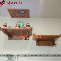 Màu sắc bàn thờ Tâm Phát cũng rất đa dạng
