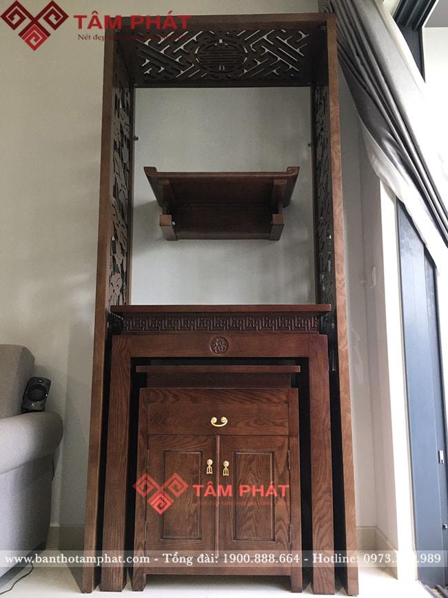 Không gian thờ tự đẹp cho nhà chung cư